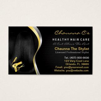 Hair Salon Stylist Beautician Appointment Business Card
