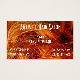 Hair Salon Stylist beauty Business Card