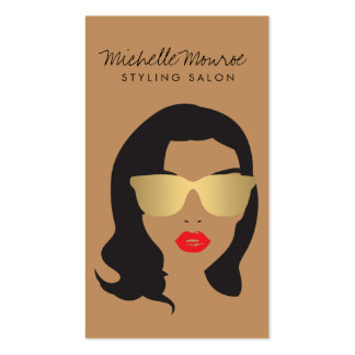 Hair Salon, Stylist, Beauty Girl II Pack Of Standard Business Cards