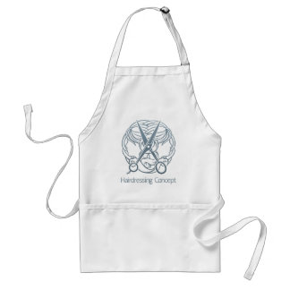 Hair Salon Stylist Hairdresser Concept Standard Apron