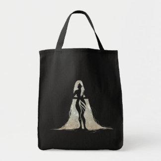 Hair Space Grocery Tote Bag