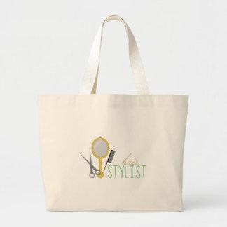 Hair Stylist Canvas Bags