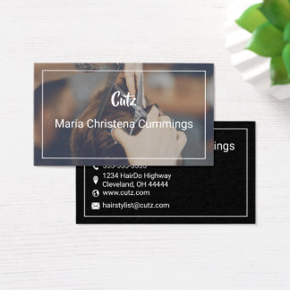Hair Stylist - Barber Business Card
