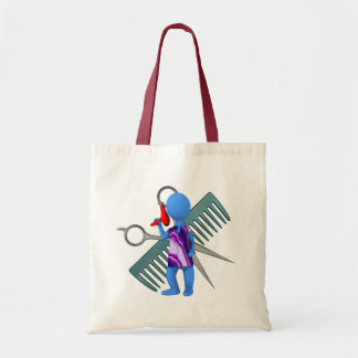 Hair Stylist Budget Tote Bag