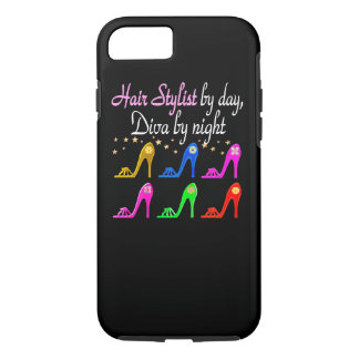 HAIR STYLIST BY DAY DIVA BY NIGHT iPhone 7 CASE
