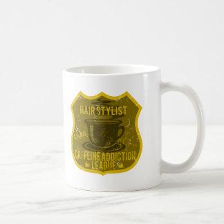 Hair Stylist Caffeine Addiction League Coffee Mug
