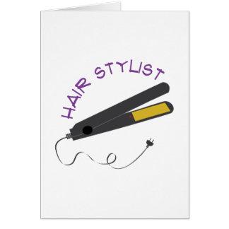 Hair Stylist Card