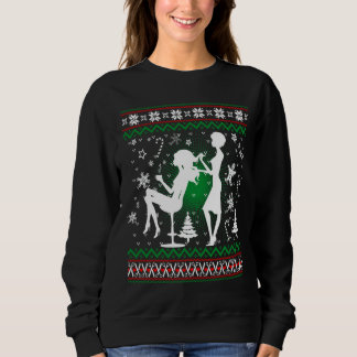 Hair stylist Christmas T-Shirt