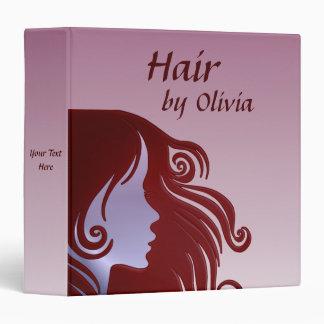 Hair Stylist Hair Dresser Hair Salon Vinyl Binders
