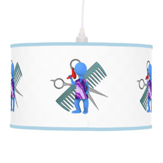 Hair Stylist Hanging Pendant Lamps