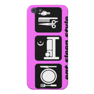 hair stylist iPhone 5/5S cases
