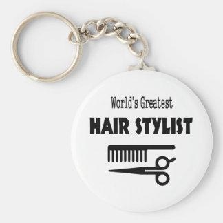 Hair Stylist Keyring