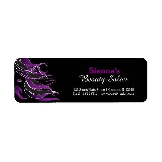 Hair stylist return address label
