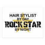 Hair Stylist Rock Star by Night