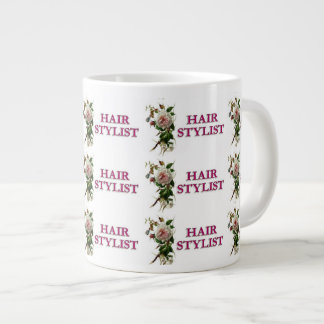 Hair Stylist Rose Giant Coffee Mug