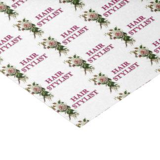Hair Stylist Rose Tissue Paper