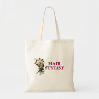 Hair Stylist Rose Tote Bag