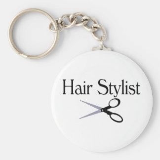 Hair Stylist Scissors Keychain