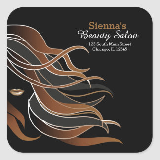 Hair stylist sticker