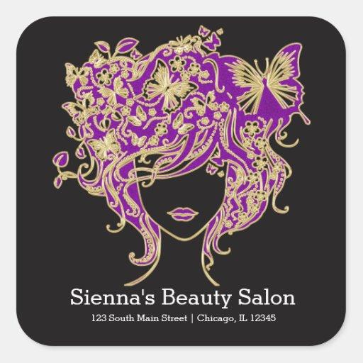 Hair stylist stickers