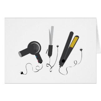 Hair Stylist Tools Card