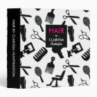 Hair Stylist Tools Pattern Binder