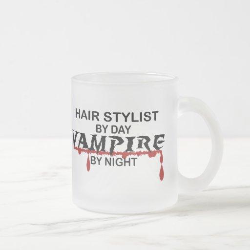 Hair Stylist Vampire by Night Mug