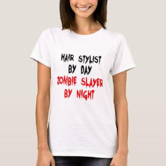 Hair Stylist Zombie Slayer T-Shirt