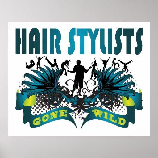 Hair Stylists Gone Wild Print