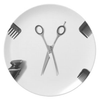 Hair Stylists Plate