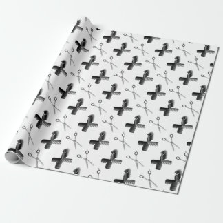 Hair Stylists Wrapping Paper