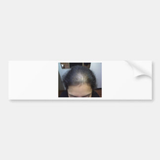 Hair T Bumper Sticker