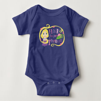 Hair to the Throne Baby Bodysuit