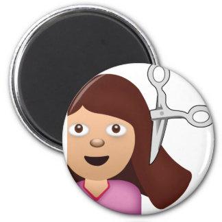 Haircut Emoji Magnet