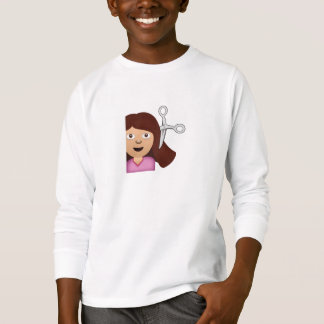 Haircut Emoji T-Shirt