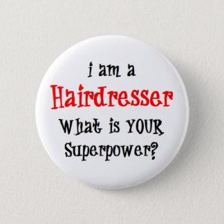 hairdresser 2 inch round button