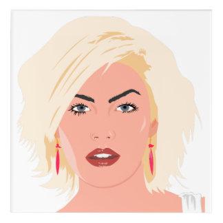 Hairdresser-beauty salon acrylic print