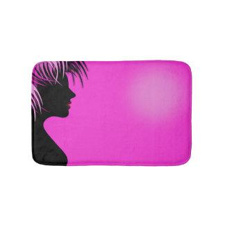 Hairdresser-beauty salon bath mat