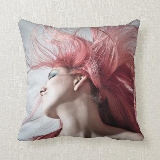 Hairdresser-beauty salon throw pillow