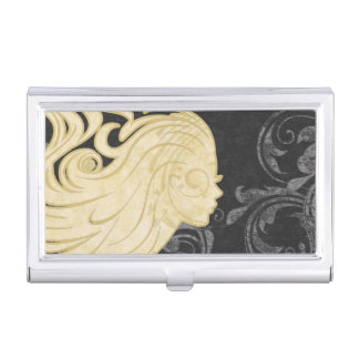 Hairdresser Business Card Holder