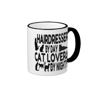 Hairdresser by Day Cat Lover by Night Coffee Mug