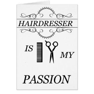 Hairdresser Card