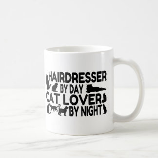 Hairdresser Cat Lover Coffee Mug