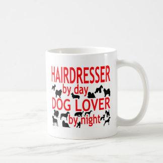 Hairdresser Dog Lover Basic White Mug
