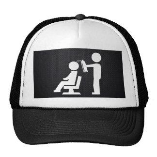 Hairdresser Employees Pictograph Trucker Hat