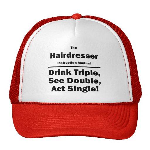 hairdresser mesh hat