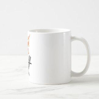 Hairdresser on fire coffee mugs