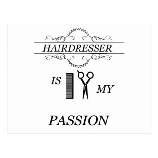 Hairdresser Postcard