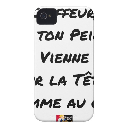 HAIRDRESSER, THAT YOUR VIENNA COMB ON THE HEAD iPhone 4 Case-Mate CASES