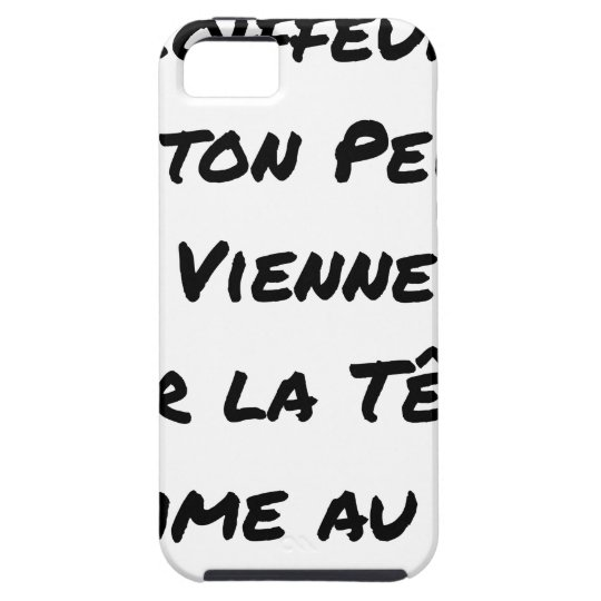 HAIRDRESSER, THAT YOUR VIENNA COMB ON THE HEAD iPhone 5 CASE